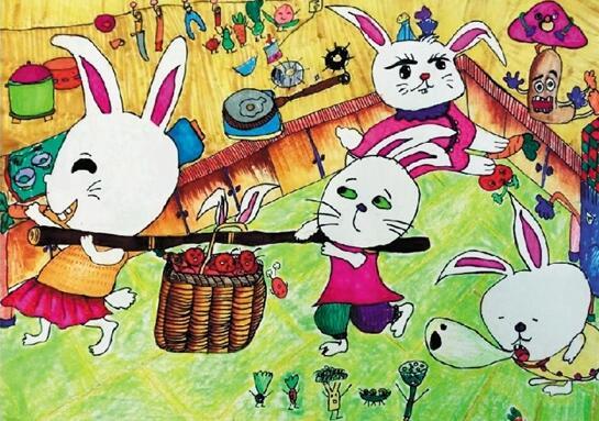 我想画可爱的小兔