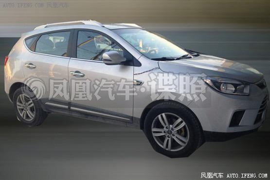 江淮瑞风S5 2.0T自动挡 或10月上市高清图片